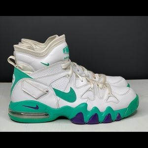MEN'S NIKE AIR MAX 2 STRONG BASKETBALL SHOES